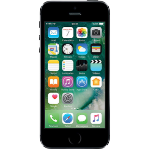 """iPhone 5S 16GB Cinza Espacial Tela Retina 4"""" Câmera de 8MP - Apple por R$ 1170"""