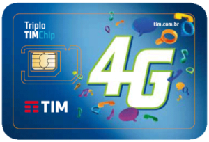 Tim Chip Triplo 4G Pré Nacional - R$ 4,75