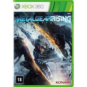 Jogo Metal gear Rising Xbox 360_mídia física - R$20