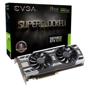 EVGA GTX 1070 SC GAMING ACX3.0 8GB 256 bits 4K Ready PCI-E 08G-P4-6173-KR
