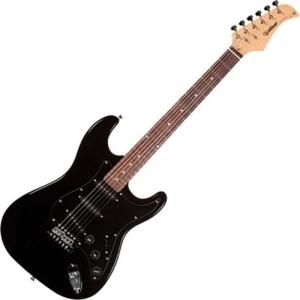Guitarra Elétrica Stratocaster Full Black St-111 Waldman - R$390