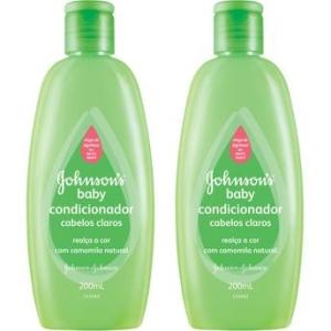 Leve 2 Pague 1 - Condicionador Johnson's Baby Cabelos Claros - 200ml cada por R$ 10