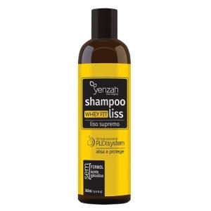 Yenzah Whey Fit Liss Supremo - Shampoo Alisante - 365ml - R$57