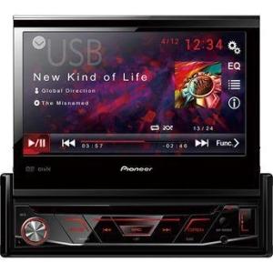 """DVD Player Automotivo Pioneer 7 """" AVH-3880DVD USB Entrada para camêra de ré R$603.20"""