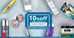10% OFF nas compras acima de R$ 250