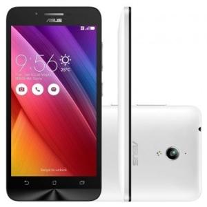 Smartphone Asus Zenfone Go 16GB ZC500TG Desbloqueado Branco por R$ 450