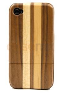 Capa Madeira Listrada para Iphone 4/4s - R$2,00