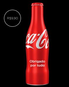 Garrafa Coca Cola personalizada