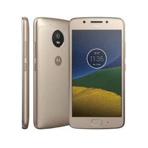 Smartphone Motorola Moto G5 XT1672 Ouro com 32GB por R$ 674