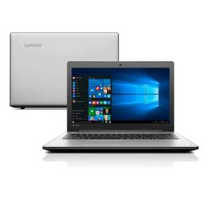 """Notebook Lenovo Ideapad 310 - Intel® Core™ i3-6006U, 4GB, 1TB, LED 15.6"""" -R$ 1.484,10"""