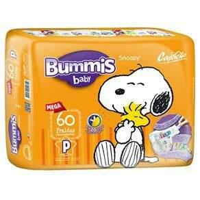 50% Off Fralda Capricho Snoopy Mega P 60 Unidades - R$ 19,90