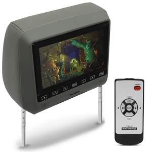 """Monitor de DVD Automotivo de Encosto de Cabeça 7"""" - Tech One 61753 - R$126,00"""