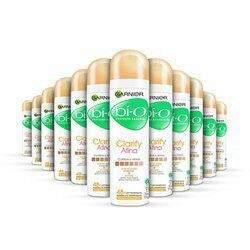 Kit 12 Desodorante Antitranspirante Garnier Bí-O Clarify Afina AerosolR$84.93