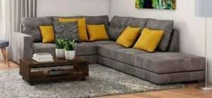 Sofá de Canto American Comfort 5 Lugares - R$ 989