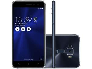 Smartphone Asus Zenfone 3, Safira, ZE520KL, Tela de 5.2´´, 16GB, 16MP