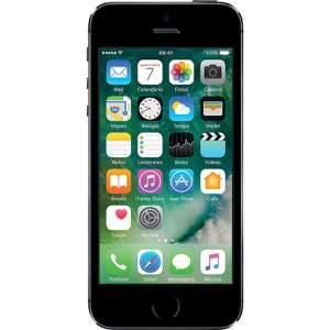 """iPhone 5S 16GB Cinza Espacial Tela Retina 4"""" Câmera de 8MP - Apple por R$ 1300"""
