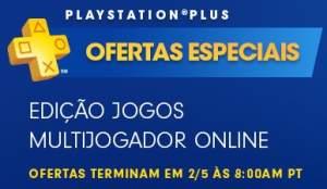 Ofertas de jogos multiplayer para PSN Plus - a partir de R$ 10,00
