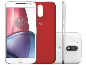 Motorola Moto G 4ª Geração Plus 32GB - Branco Dual Chip 4G Câm. 16MP + Selfie 5MP