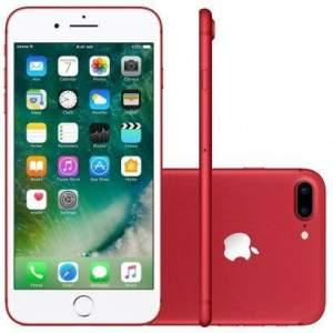 iPhone 7plus 128gb desbloqueado vermelho