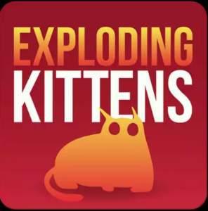 Jogo exploding kittens na promoção Google Play