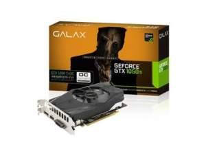 PLACA DE VÍDEO GALAX GEFORCE GTX 1050 TI OC 4GB GDDR5 128BIT, 50IQH8DSN8OC