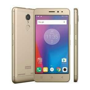 Vibe K6 Dourado com 32GB Dual Sim - R$ 764,10