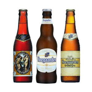 Kit degustação com 03 cervejas Hoegaarden - R$23,35