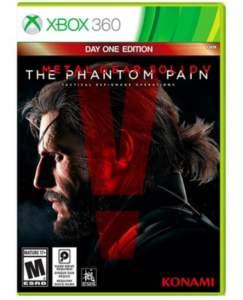 Game Metal Gear Solid V: The Phantom Pain Xbox 360  R$19.90