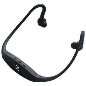 Fone de Ouvido sem Fio com Mp3 Embutido, Rádio FM, Bateria com duração de 4hs e USB 2.0 + Cabo USB