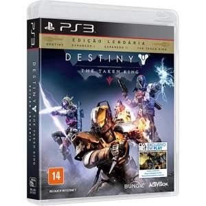 Destiny The Taken King - Edição Lendária - PS3 - $45