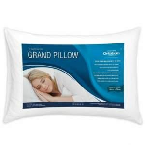 Travesseiro Grand Pillow 50x70 cm Com Fibra Siliconizada Antiálergico Branco Ortobom De R$ 79,90 por - R$ 12,90
