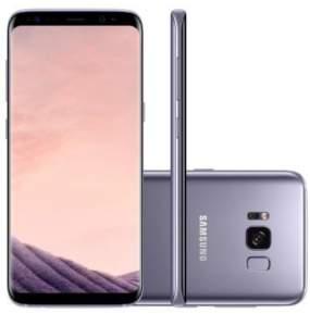 Samsung Galaxy S8 com aparelho usado na troca mais bônus de mil reais do VISA