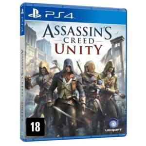 Game Assassins Creed Unity PS4 R$59,90 no boleto ou 70,47 dividido em até 10x