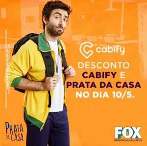 [ Cabify ] 25% Off dia 10/05 - Válido para todo Brasil