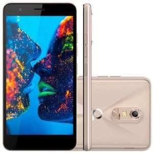 """Smartphone Quantum MÜV 4G, Dual Chip, Memória 16GB, Câmera 13MP, Tela 5.5"""""""