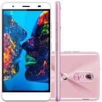 Smartphone Quantum MÜV Pro 4G Desbloqueado Mirage Gold Dourado