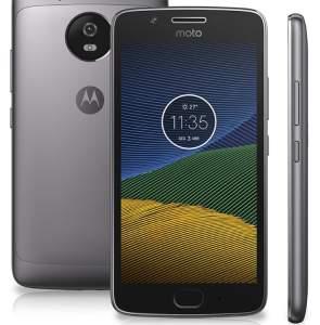 Smartphone Moto G5 XT1672 Platinum Dual Chip Android Nougat 4G 32GB - BOLETO por R$ 879