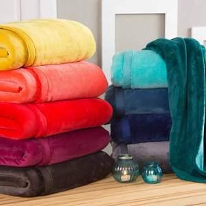 Cobertor Casal Flannel Hit com Borda em Percal - Casa & Conforto por R$ 60
