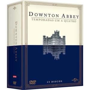 Coleção DVD Downton Abbey 1ª a 4ª Temporada (15 discos) por R$ 70