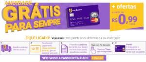 Cartão SouBarato com anuidade GRÁTIS PARA SEMPRE