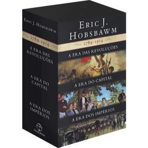 Box As Eras: A Era das Revoluções, A Era do Capital, A Era dos Impérios (3 Volumes) por R$ 80
