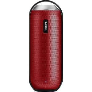 Caixa de Som Bluetooth Philips BT6000B/12 12W Vermelha Resistente à Água por R$ 230