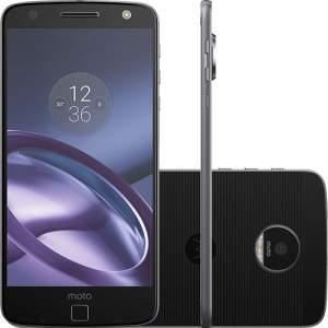 "Smartphone Motorola Moto Z Style Dual Chip Android 6.0.1 Tela 5.5"" 64GB 4G Câmera 13MP - Preto por R$ 1649"