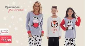 Pijamas a partir de R$ 16
