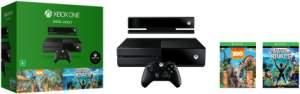 Console Xbox One 500 GB + Kinect + 2 jogos grátis - R$1.329