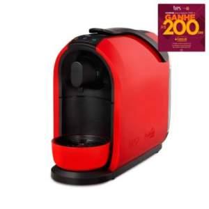 Máquina de Café Expresso e Multibebidas Mimo Vermelha - Três por R$ 228