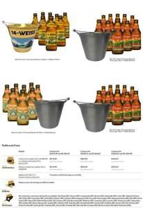 Kits com 12 cervejas 838 Pale Ale, 14 Weiss, Aura Lager ou Magna Pils  R$ 67