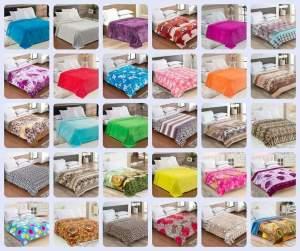 Cobertor / Manta de casal Microfibra - R$ 35,00