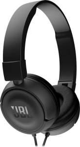 Aproveitem! Headphone c/ microfone JBL T450 Preto - JBLT450BLK por R$ 99,61