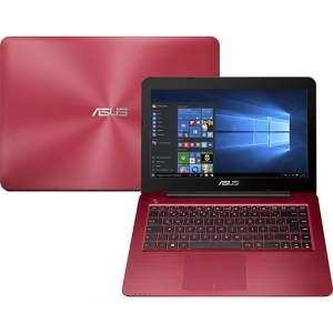 """Ótimo preço - Notebook Asus Z450UA-WX009T Intel Core i5 8GB 1TB Tela LED 14"""" Windows 10 - Vermelho"""